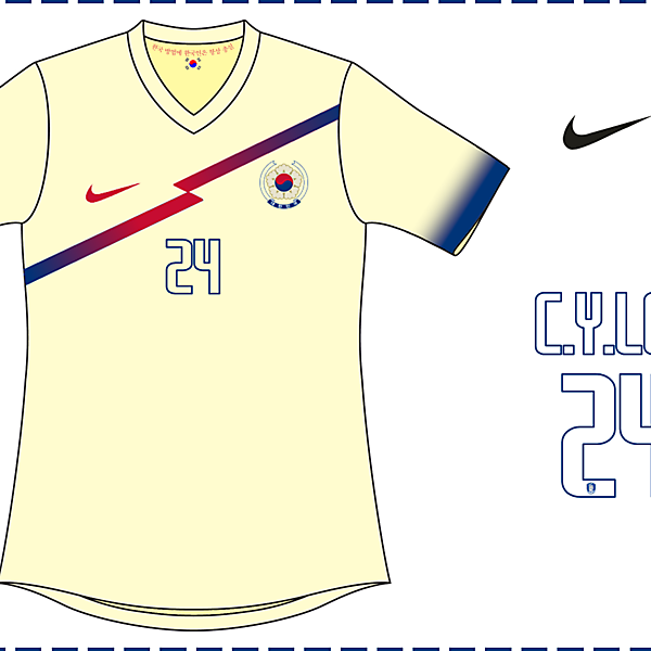 South Korea World Cup Away