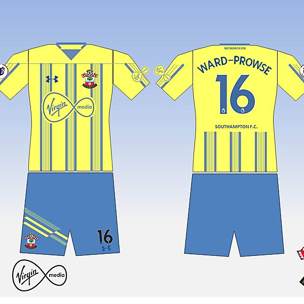 Southampton FC Away kit