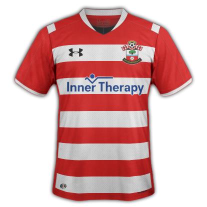 Southampton FC Under Armour Home Kit (2016-17)