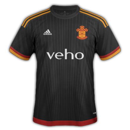 Southampton Third kit 2015/16 season with Adidas