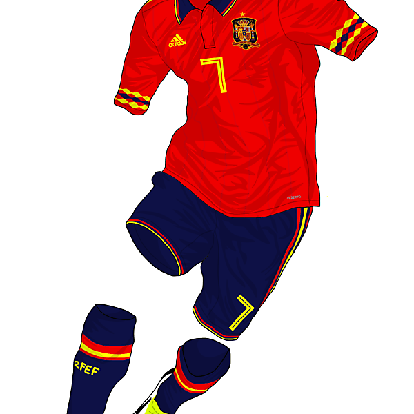 Spain 2018 Home Kit