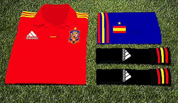 Spain Adidas Home