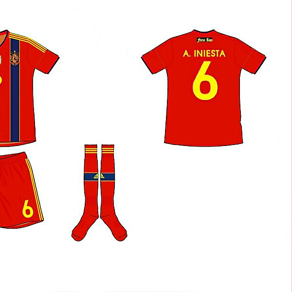 Spain Home Kit