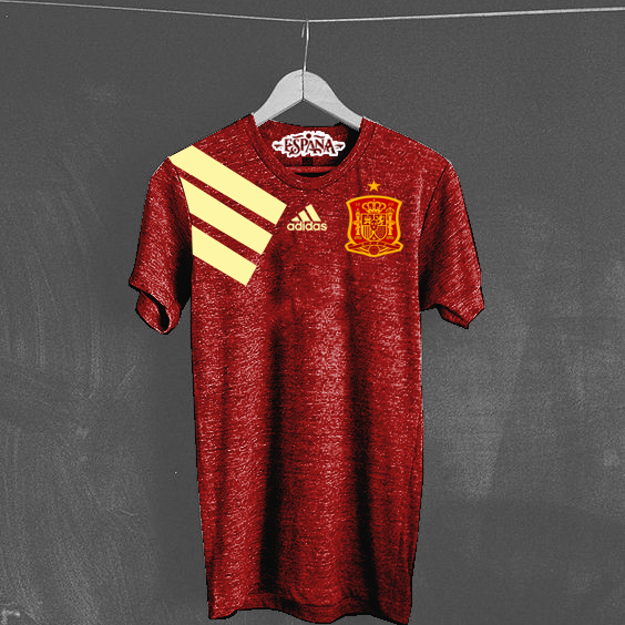 Spain Jersey Home 2017