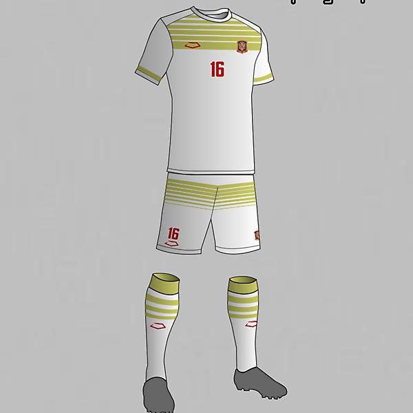 Spain National Football Team Away Kit 2016