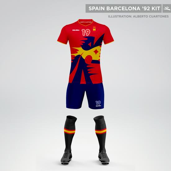 Spain Olympic Games Barcelona '92 Kit