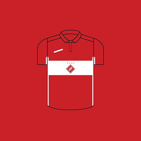 Spartak Moscow × Minimalist