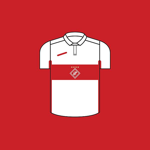 Spartak Moscow Away × Minimalist