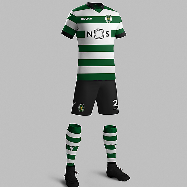 Sporting CP 17/18 Home kit concept