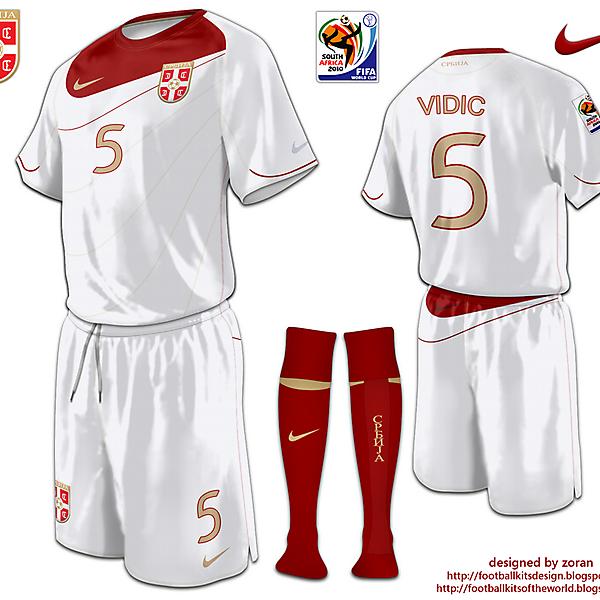 Srbija World Cup 2010 fantasy away