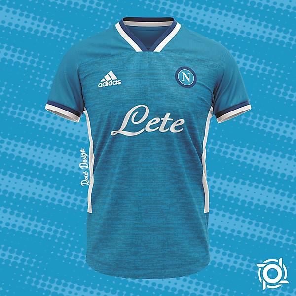 S.S.C. Napoli Home Jersey Concept