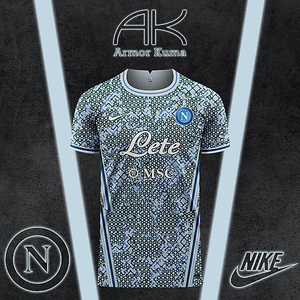SSC Napoli Nike Away Kit