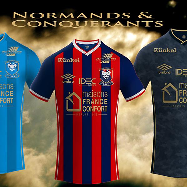 Stade Malherbe Caen 16/17 Umbro Kits