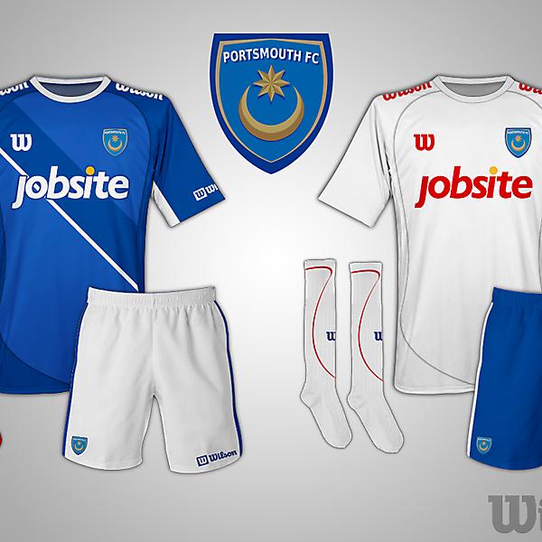 Portsmouth FC Wilson kit