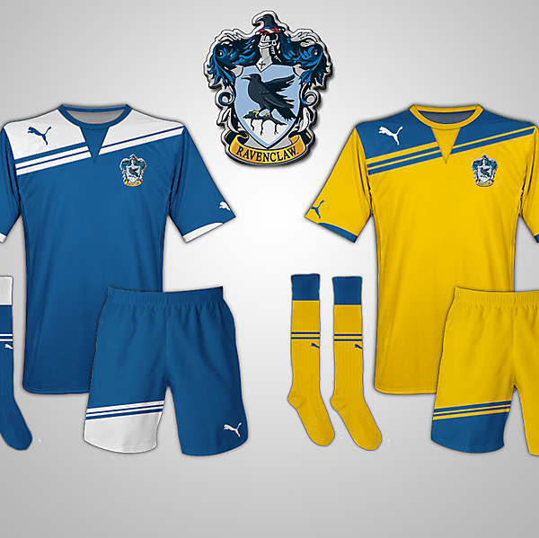 Ravenclaw (Harry Potter) Fantasy Football Kits