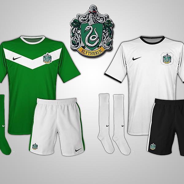 Slytherin (Harry Potter) Fantasy Football Kits