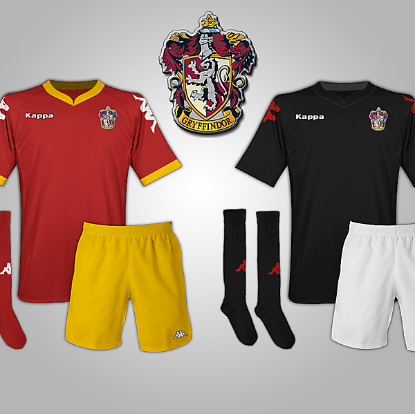 Gryffindor (Harry Potter) Fantasy Football Kits