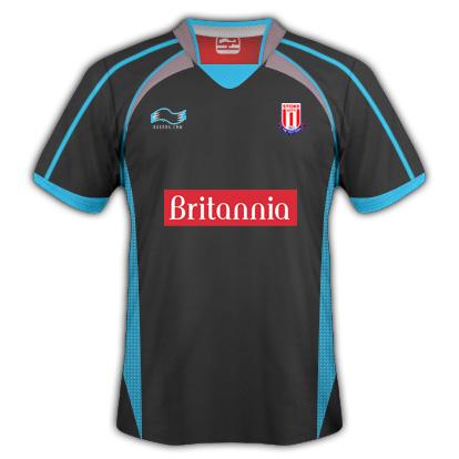 Stoke City Away Fantasy Kit (Burrda)