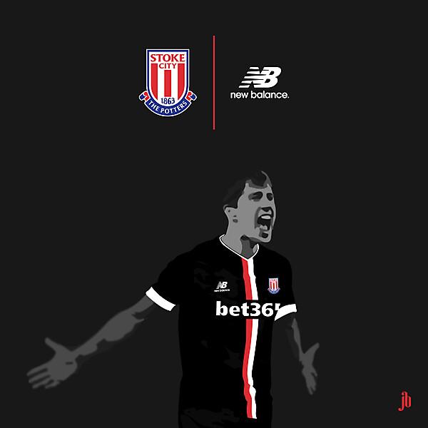 Stoke City Away 2015/16 (New Balance)