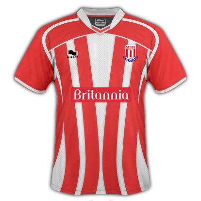Stoke City Hoe Fantasy Kit (Burrda)