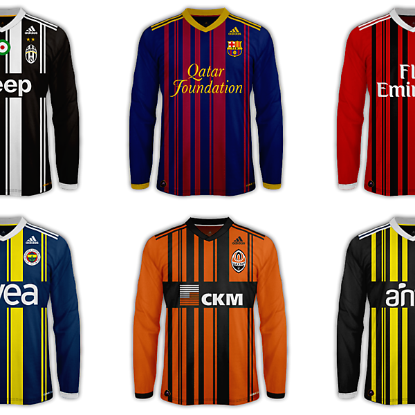 Adidas Stripes Template