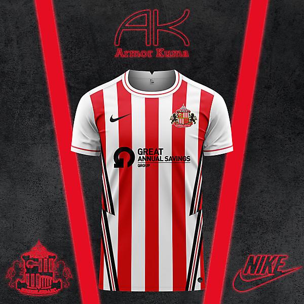 Sunderland AFC Nike Home Kit