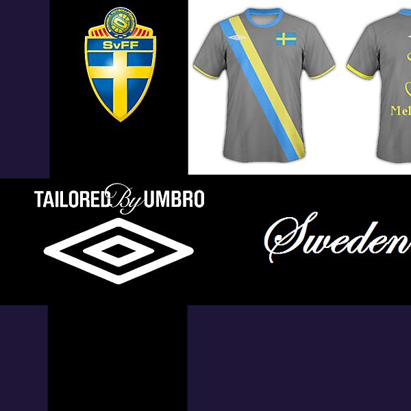 Sweden National Football Team - Umbro Away Kit
