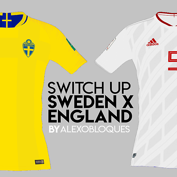 SWEDEN X ENGLAND | SWITCH UP!