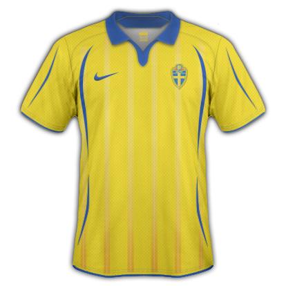 Sweden 2010 Home Shirt