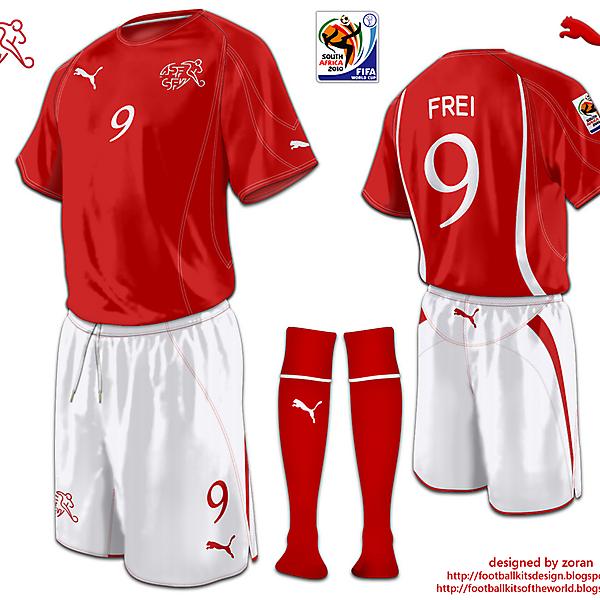 Switzerland World Cup 2010 fantasy home