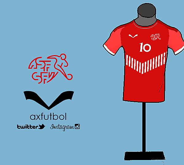Switzerland home kit design