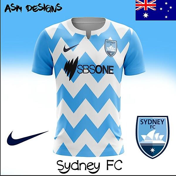 Sydney FC 2018 Nike Home Kit