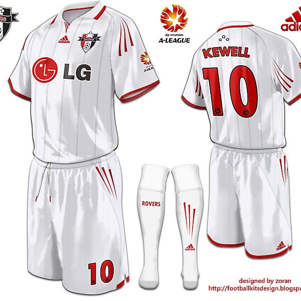 Sydney Rovers FC Away Kit