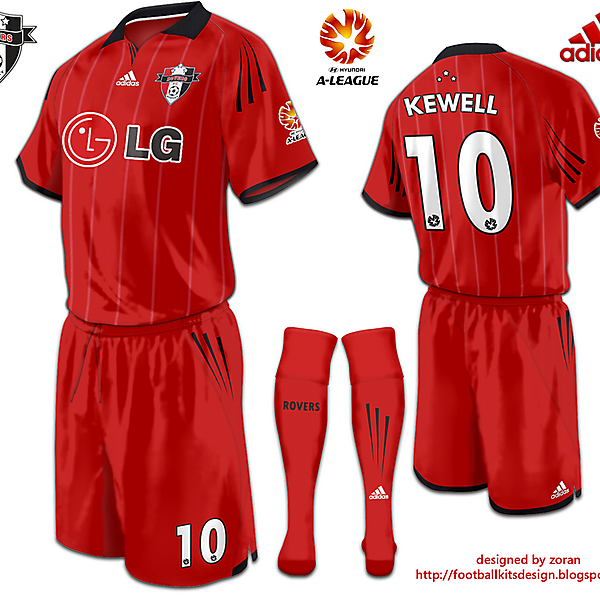 Sydney Rovers FC  Third kit Alternative