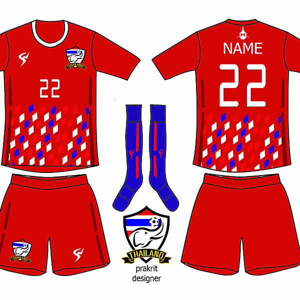 Thailand kit away 2016