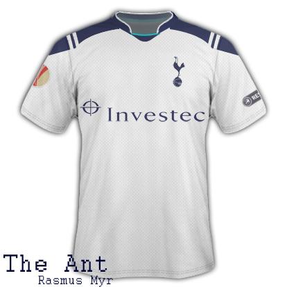 Tottenham 11/12 The Ant Home Fantasy Kit