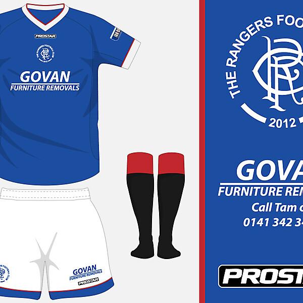 The Rangers FC - Home Kit