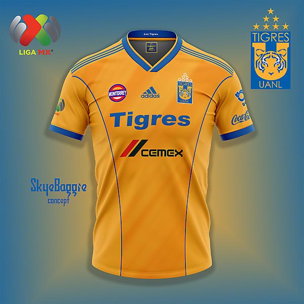 Tigres UANL home concept