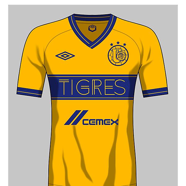 Tigres Uanl Umbro home kit