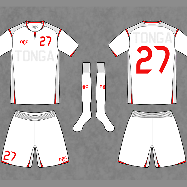 TONGA National Team - Away kit