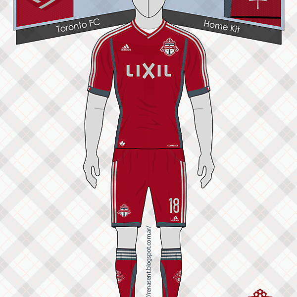 Toronto FC | Home Kit