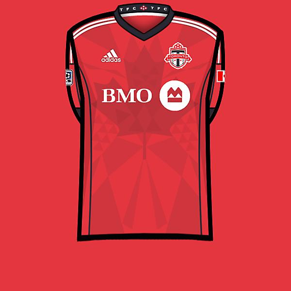 Toronto FC home shirt 13-14.