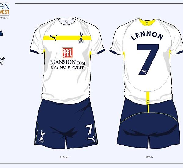 Fantasy Tottenham Hotspurs Football Kit