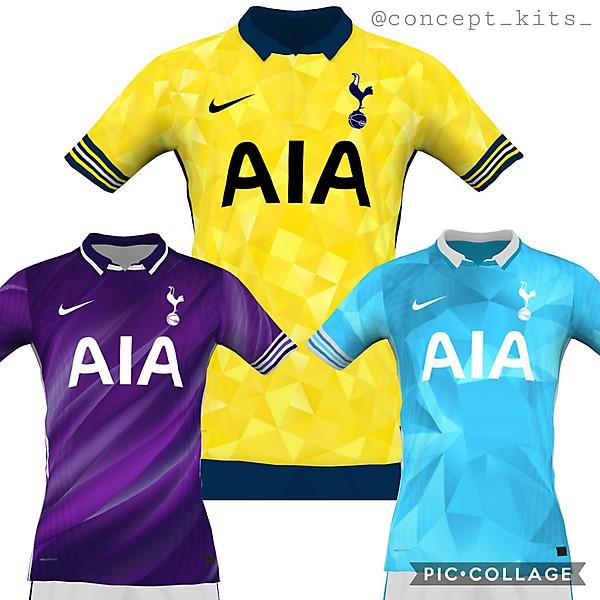 Tottenham away concepts