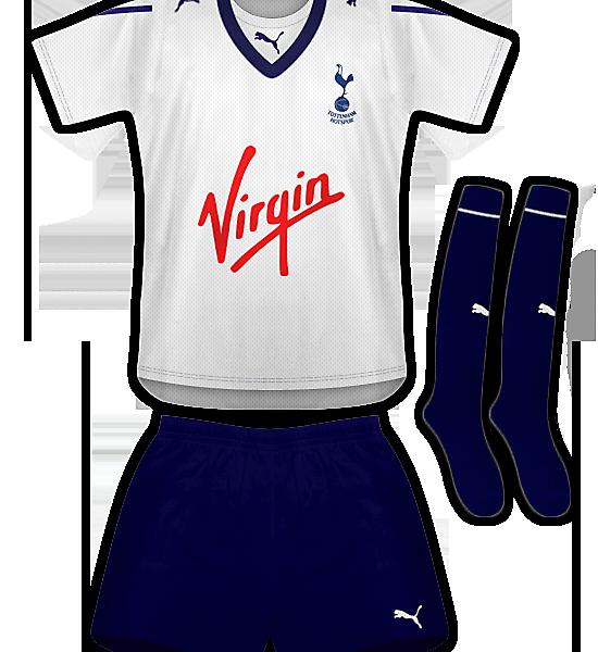 Tottenham Hotspur Home Kit 09/11
