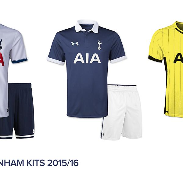 Tottenham Hotspur 2015/2015 kits