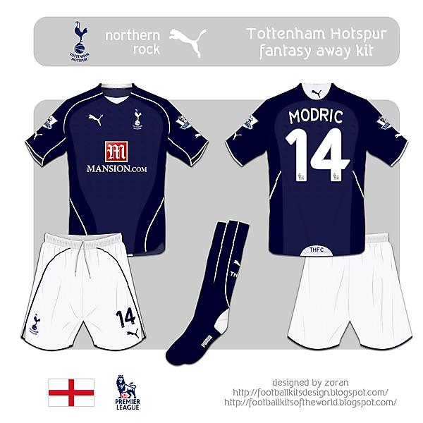 Tottenham Hotspur fantasy away