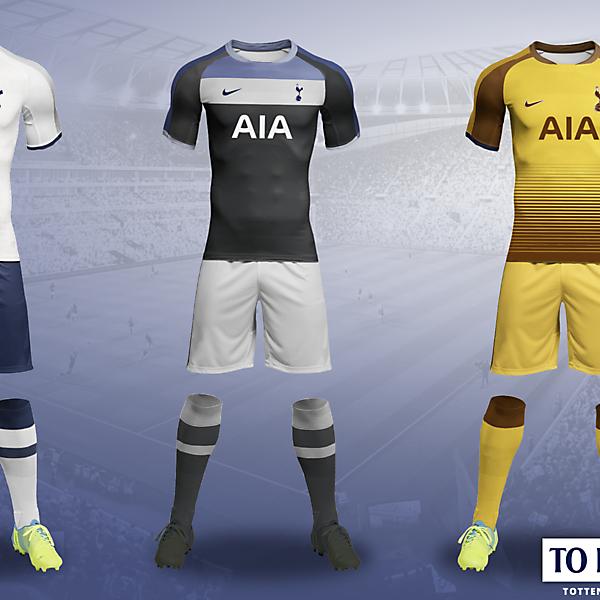 Tottenham Hotspur kits 2018/2019