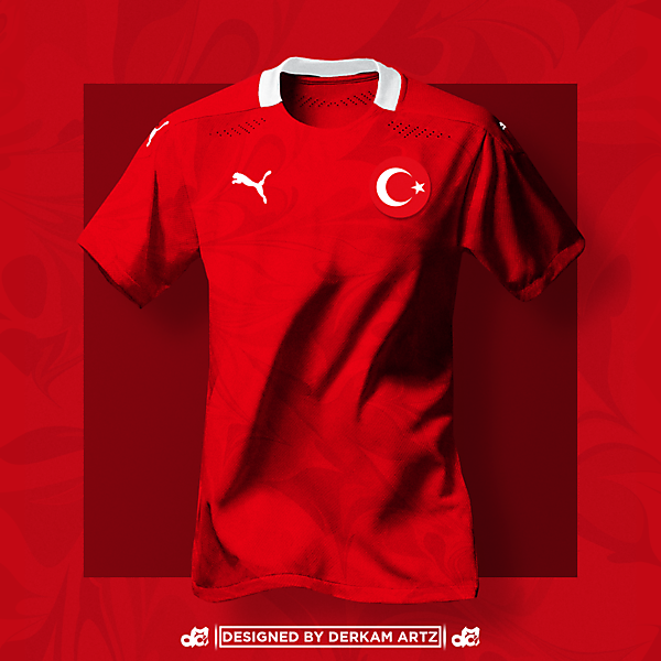 Turkey x Puma - Away Kit