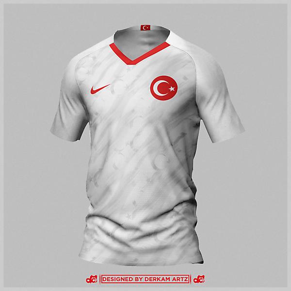 Turkey - EURO 2020 Away Kit
